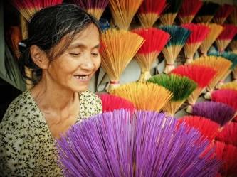 Sắc màu làng hương Thủy Xuân