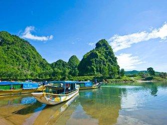 Tour Huế Động Phong Nha + Cơm Trưa, Miễn Phí Vé Tham Quan, Đi Thuyền Sông Son