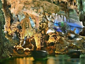 Tour Huế Động Thiên Đường + Cơm Trưa, Miễn Phí Vé Tham Quan, Tham Quan Bằng Xe Điện