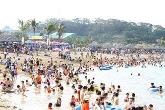 Những nét mới trên bãi biển Tuần Châu