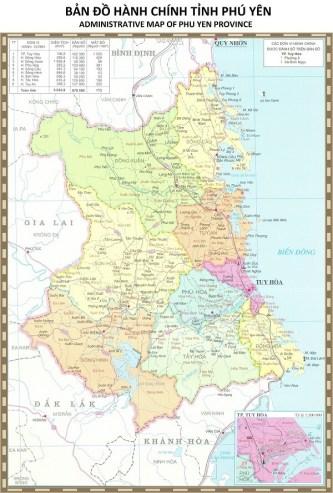 Bản đồ Phú Yên Thuộc Miền Nào Của Nước Ta