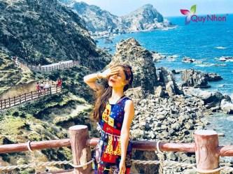 Chị Hải Yến – Tour Quy Nhơn Kỳ Co Eo Gió – Khu dã ngoại Trung Lương 1 ngày