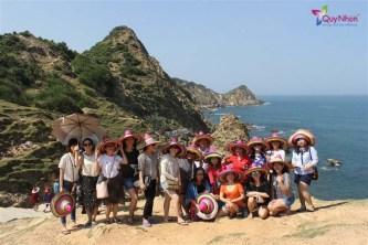 Tour Hòn Khô – Eo Gió đón tại FLC Quy Nhơn rất tuyệt vời. Điểm 10 cho chất lượng