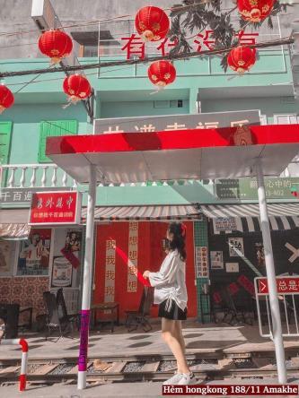 """Xuất hiện """"con hẻm Hong Kong"""" giữa lòng Buôn Ma Thuột"""