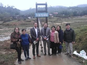 Đoàn công tác Vương quốc Bỉ và tổ chức phi chính phủ PLAN Bỉ đến làm việc tại Kon Tum