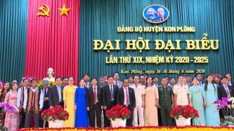 Bế mạc Đại hội đại biểu Đảng bộ huyện Kon Plông