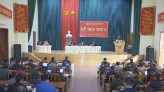 Họp HĐND huyện Kon Plông