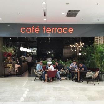 Cafe Terrace – khu vườn mộng mơ ngay giữa lòng thành phố