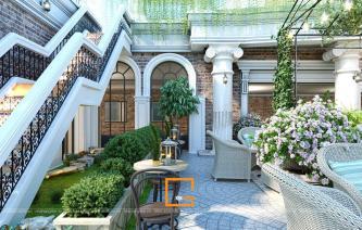 Thiết kế quán cafe sân vườn trang nhã tại Thanh Hóa