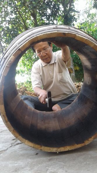 Long An: Giữ nghề làm trống Bình An