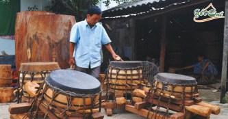 Về thăm làng nghề truyền thống làm trống Bình An