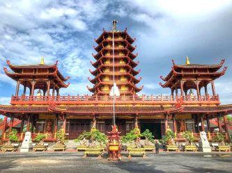 Vãn cảnh Chùa Phật Ngọc Xá Lợi – Vĩnh Long