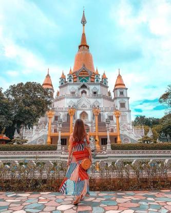 Du xuân vãn cảnh chùa đẹp gần Sài Gòn