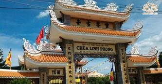 Chùa Linh Phong cổ linh thiêng, độc đáo ở Tiền Giang