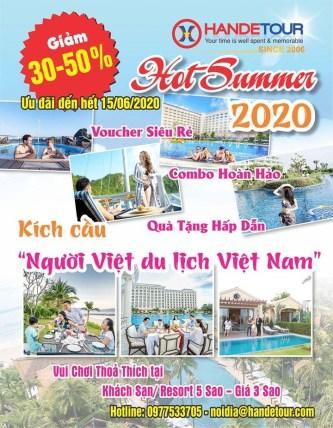 """Handetour kích hoạt chương trình """"Người Việt đi du lịch Việt"""" 2020"""