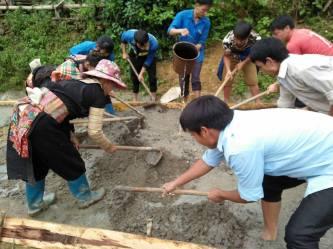 Lai Châu: Huyện Sìn Hồ bê tông hóa ít nhất 0,2 km đường