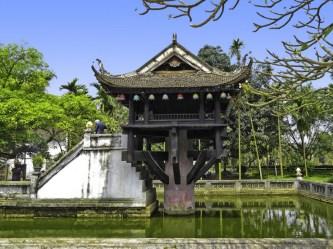 Chùa Một Cột: Ngôi chùa có kiến trúc độc đáo nhất Việt Nam