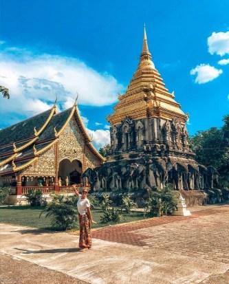 Lạc vào xứ sở chùa tháp tuyệt đẹp ở Chiang Mai