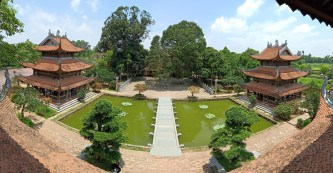 Khám phá chùa Phúc Lâm: Ngồi chùa dát vàng đẹp nhất Hưng Yên