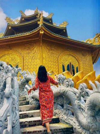 Chùa Phúc Lâm Hưng Yên - ngôi chùa 'dát vàng' đẹp cỡ nào?