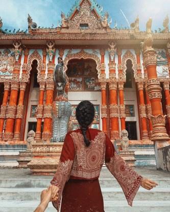 Chẳng đâu xa, Sóc Trăng cũng có những ngôi chùa Thái đẹp mê mẩn