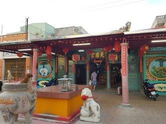 Chùa Bà Thiên Hậu – Ngôi chùa tiêu biểu của người Hoa Cà Mau