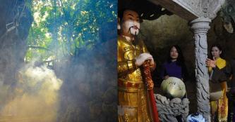 Khám phá vẻ đẹp cổ kính và hoang sơ của Chùa và Động Thiên Tôn