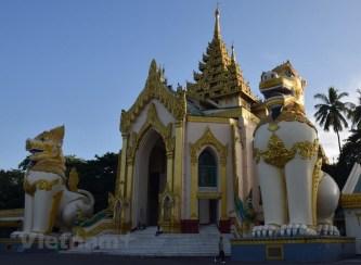 [Photo] Ghé thăm ngôi chùa linh thiêng nhất của Myanmar