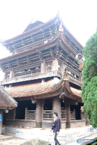Chùm ảnh: Vẻ đẹp chùa Keo, Thái Bình