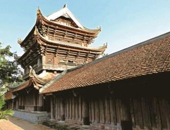 Chùa Keo - Kiến trúc 400 năm tuổi còn vẹn nguyên