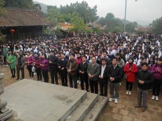 Hành trình về với Đền thờ nhà giáo Chu Văn An và thăm quan khu di tích lịch sử Côn Sơn - Kiếp Bạc của Thầy - trò trường THPT Chương Mỹ A